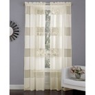 Laura Ashley Belle Heather Sheer Curtain Panel