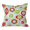 "DENY Designs Jolly Ornament Throw Pillow - Multicolor (20""x20"")"