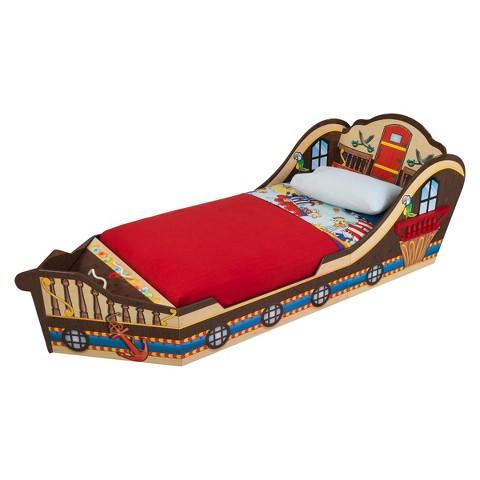 KidKraft Pirate Toddler Bed Target