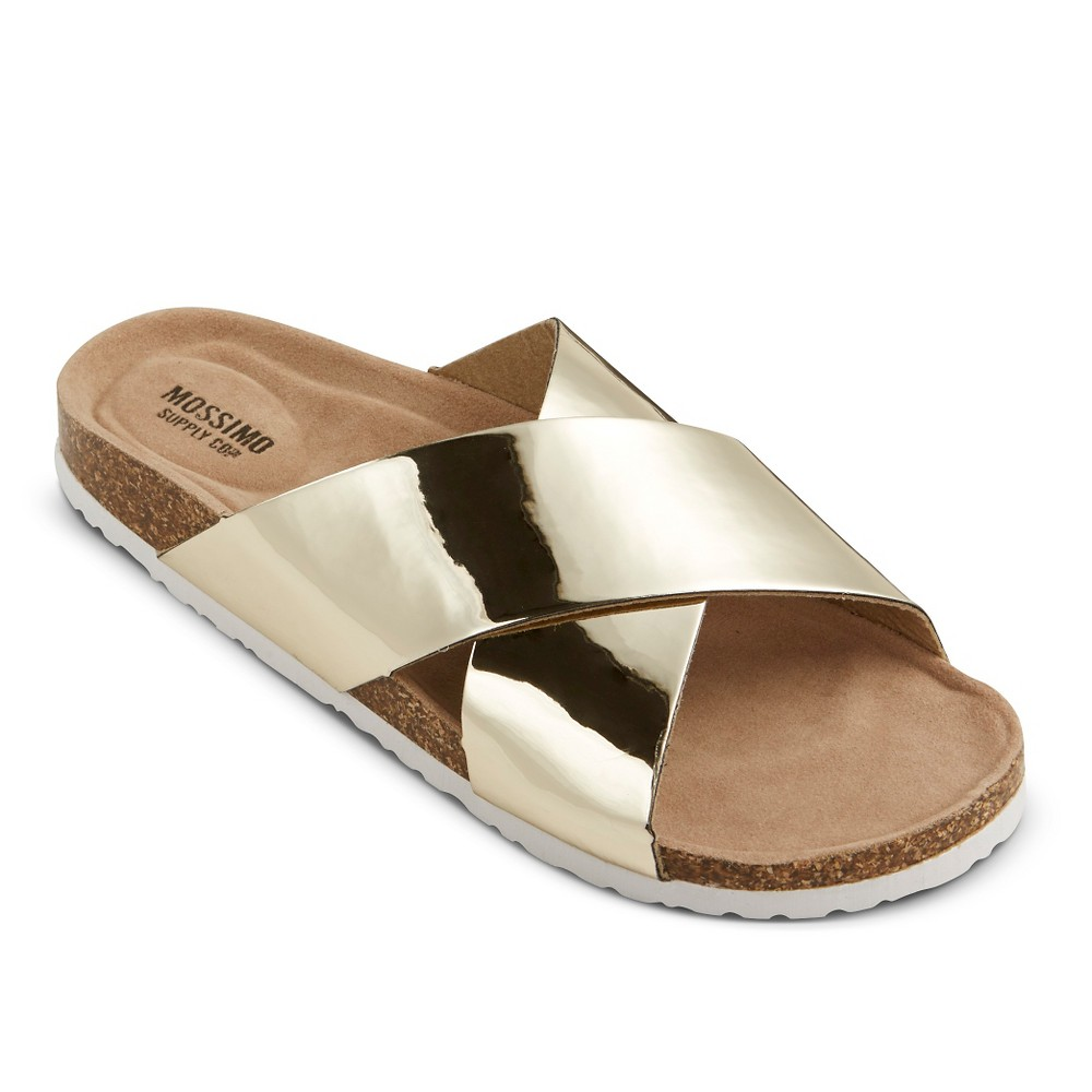 7d028d637ae7 Mossimo Supply Co. Women s Doris Footbed Sandals  15193