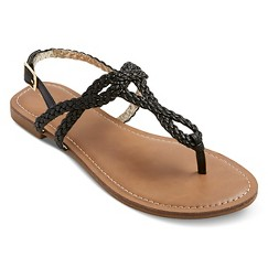 Women's Esma Braided Sandals - Black 8