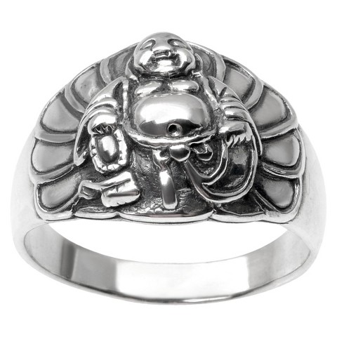 s tressa collection buddha ring in sterlin target