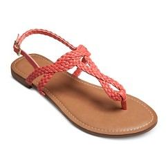 Women's Esma Braided Sandals - Cognac 6