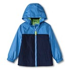 Toddler Boys' Color Block Windbreaker - Blue