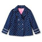 Toddler Girls Bumblebee Trench Coat - Nightfall Blue