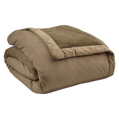 ComfortTech 3M Thinsulate Ultra Plush Insulating Blanket - Taupe (Full/Queen)