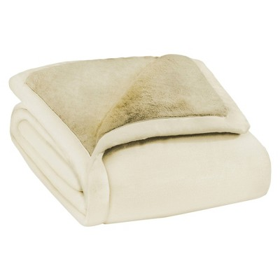 ComfortTech 3M Thinsulate Ultra Plush Insulating Blanket - Ivory (Full/Queen)