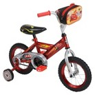 "Cars 12"" Bike With Pit Crew Bag"