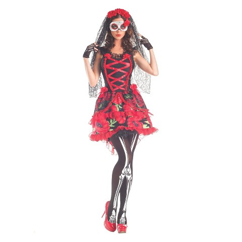 women's day of the dead corset costume  target