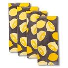 Room Essentials™ 4 Pk Lemon Terry Towels - Yellow