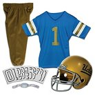 Franklin Sports NCAA UCLA Bruins Deluxe Football Uniform Set