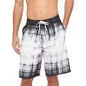 Speedo Mens Dip Dye Plaid Board Shorts