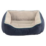 Dallas Large Faux Suede Box Bed Target