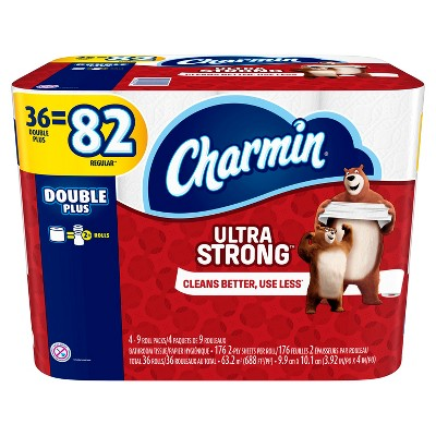 Charmin® Ultra Strong™  Toilet papers 36 Double Plus 176 Sheets