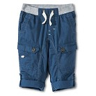 Toddler Boys Ribwaist Cargo Pant - Metallic Blue