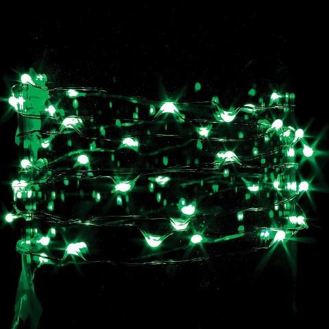 Led String Lights At Target : 9 ft. LED String Light - Green : Target