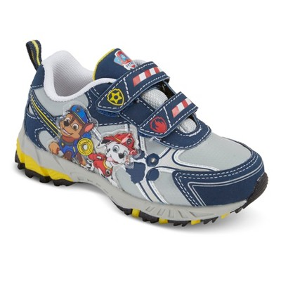 Toddler Boys' PAW Patrol Light Up Sneakers - Navy 8