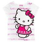 Hello Kitty Infant Toddler Girls' Short Sleeve Tee - White