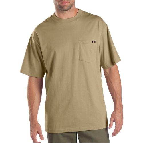 Dickies men 39 s big tall cotton short sleeve pocket t for Dickies big tex shirt