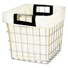 Threshold Wire Cube with Canvas Liner