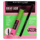 Maybelline® Great Lash® Mascara w/ Unstoppable Liner