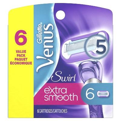 Gillette Venus Swirl Women's Razor Refills - 6 count