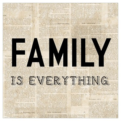 8x8 Canvas- FAMILY IS EVERYTHING