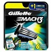 Gillette Mach3 Manual Trade-up Cartridge - 6 Count