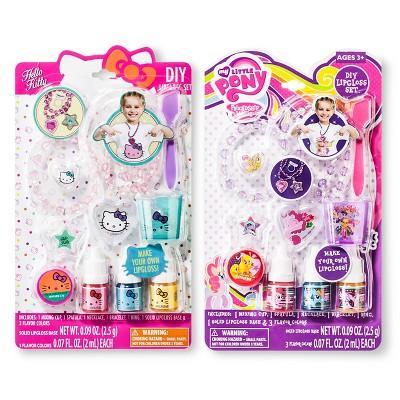 Assorted Hello Kitty/My Little Pony DIY Lipgloss Set