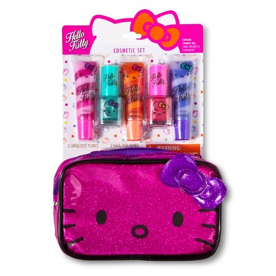 Hello Kitty Cosmetic Set with Bag