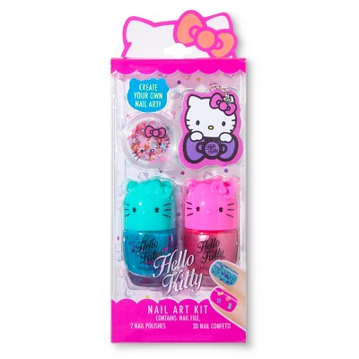 Hello Kitty 3pc Nail Art Kit