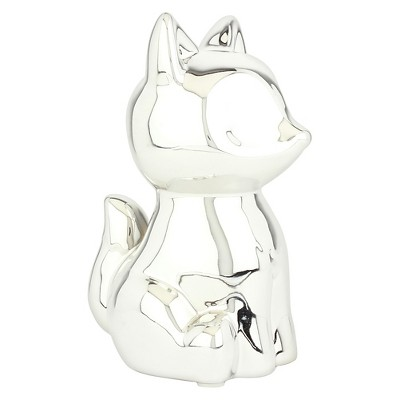 Circo™ Silver Fox Mini Coin Bank