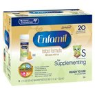 Enfamil for Supplementing Infant Formula  Ready to Use Nursette Bottles - 2floz (6 Pack)