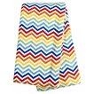 Trend Lab Rainbow Chevron Flannel Swaddle Blanket