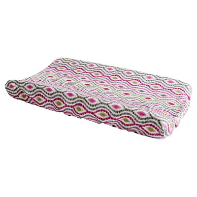 Wavery Baby by Trend Lab Jazzberry Changing Pad Cover