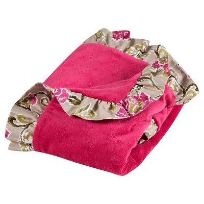 Wavery Baby by Trend Lab Jazzberry Receiving Blanket