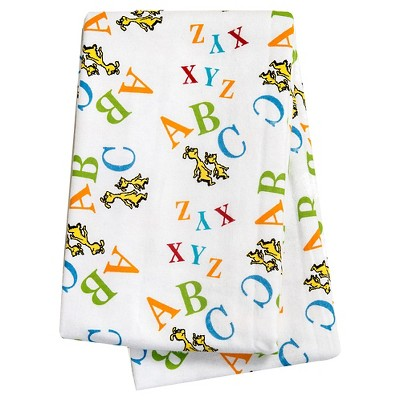 Trend Lab Swaddle Blanket White