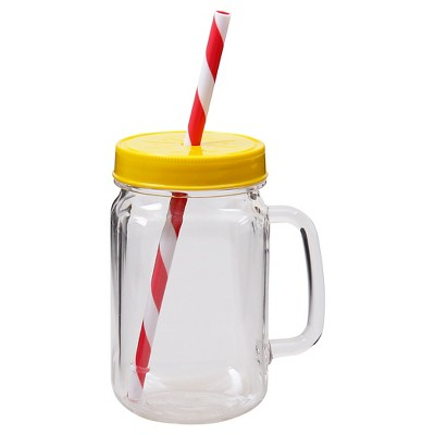 Kids Mason Mini Tumbler-Clear