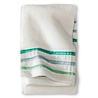 Threshold™ Pinch Pleat Hand Towel - Green