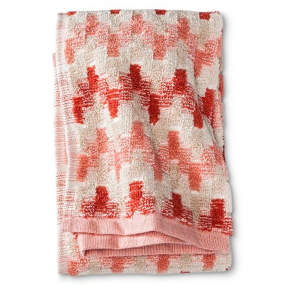 Threshold™ Dot Textured Hand Towel - Coral