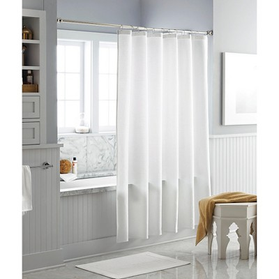 Threshold™ Multi-Stripe Shower Curtain - Winter White