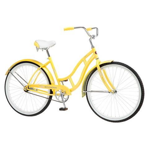 "Schwinn Women's Legacy 26"" Cruiser Bike- Yellow product details page"