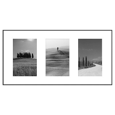 Multiple Image Frame 4X6 Black