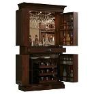 Francesca Wine Cabinet - Chestnut