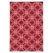 Pantone Matrix 4722G 100% Wool Flatweave Area Rug - Pink (10'x13')