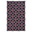 Pantone Matrix 4722A 100% Wool Flatweave Area Rug - Gray/Pink (10'x13')