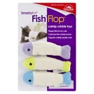SmartyKat® FishFlop™ Catnip Crinkle Pet Toy  - 3 Count