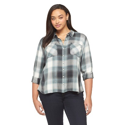Flannel Shirts For Plus Size Women Plus Size Long Sleeve Flannel