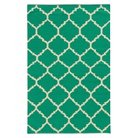 Pantone Matrix 4280J 100% Wool Flatweave Area Rug - Green (5'x8')