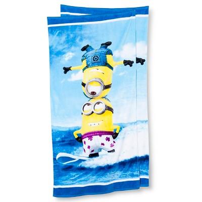 Minions Beach Towel - 2-pk.